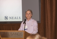 Co-Chair, Jonathan Glass opens up the 2017 Annual NEALS Meeting