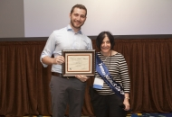Dr. Ted Hyman, Washington University, received the Clinical Poster Award