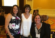 2015 ambassadors pictured from left to right: Kathy Delaney Thomas, Deb Paust, Karen Delaney Shideleff